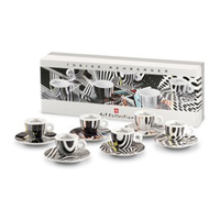 Illy Art Collection Tobias Rehberger 6 Cappuccino K/s
